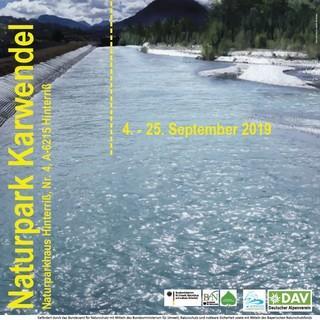 Plakat gerade wild Alpenflüsse Hinteriß