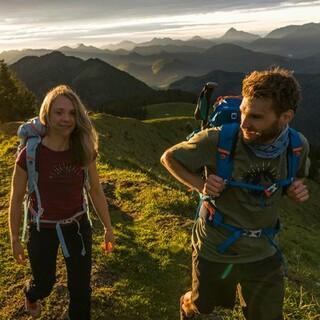 Wandern mit Aussicht, Foto: DAV/Wolfgang Ehn
