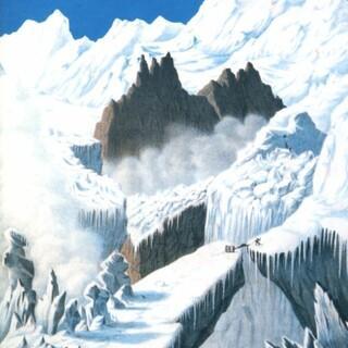 """Carl Ullrich: """"Meine Überschreitung der Gletscher von Boissans und Tacconay..."""". Archiv DAV"""