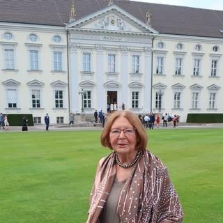 Lotte Pichler beim Bürgerfest 2019   Foto: DAV