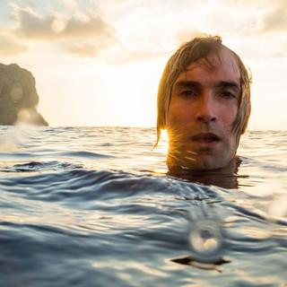 "Chris Sharma in ""Above the Sea"", Foto: Adam Clark"