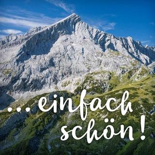 "Kampagne ""Danke Alpenplan"". Alpspitze. Foto: Jörg Bodenbender"