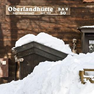 Oberlandhütte Winter