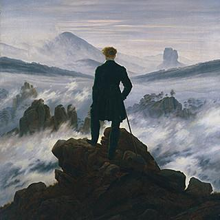Ausstellung Wanderlust Friedrich Wanderer ba