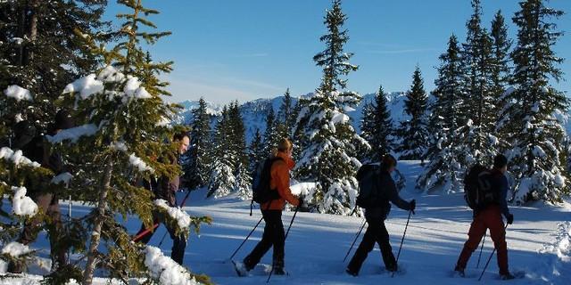 Schneeschuhtour&#x3B; Foto: Jubiarchiv