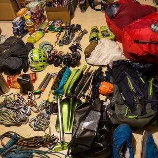 Expedition heißt Materialschlacht! Foto: @davexpedkaderfrauen