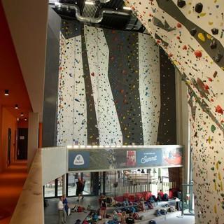 Klettern an Wänden bis 17,5 Meter Höhe, Foto: LLZ Bayern