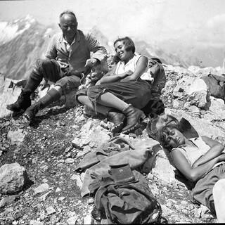 Gipfelrast, Foto: DAV Archiv