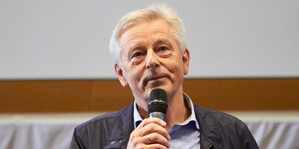 Grußwort Josef Klenner, DAV Präsident, Foto: JDAV/Ben Spengler