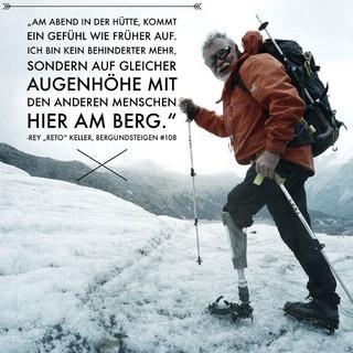 "Rey ""Reto"" Keller am Berg. Foto: bergundsteigen.at/Thomas Weiss"