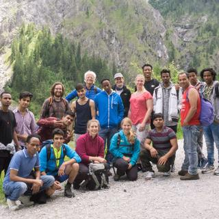 Unterwegs im Wimbachtal, Foto: Anna Thielen, Helferkreis Freilassing