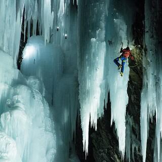 Eisklettern im Ahrntal, Foto: ServusTV/Albolina/Anna Mayr