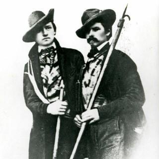 Hermann und Adolph Schlagintweit, um 1850. Foto: Sammlung Schlagintweit Bad Wiessee