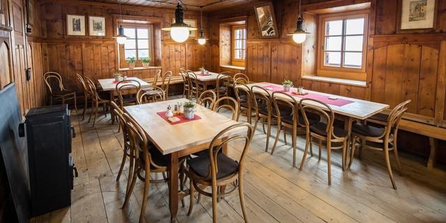 Gaststube - Fotocredit: DAV/ Jens Klatt
