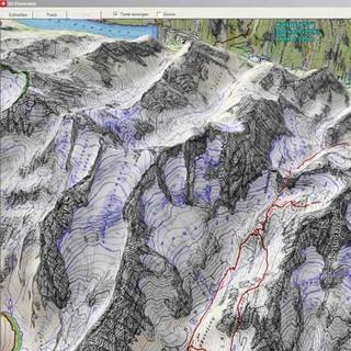 Alpenvereinskarten Digital (3D-Ansicht)