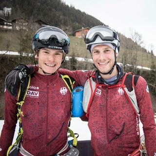 Finn Hösch (li) und Christoph Wachter (re) im Ziel - Foto: Maurizio Torri