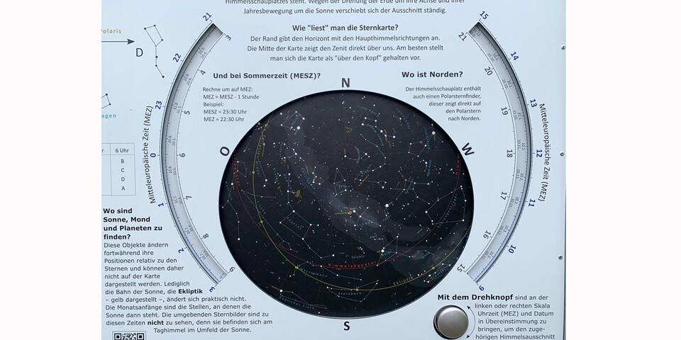 Die Himmelsschauplätze der Rhön haben nicht nur Sternenkarten. Dahinter steckt auch ein komplexes Lichtmanagement, um die Lichtverschmutzung zu reduzieren. Foto: Joachim Chwasczca