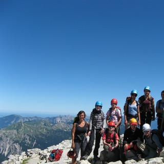 Einsteigerkurs Bergsteigen