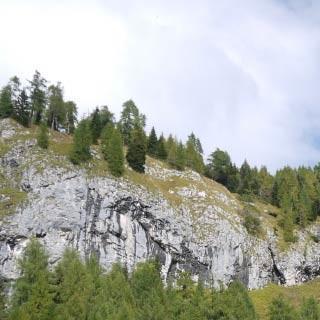 Casera Tartoi - <p>Die Casera Tartoi unterhalb der Abbrüche des Monte Tiàrfin begeistert mit weiten Almwiesen und einem stattlichen Gebäude-Ensemble.</p>