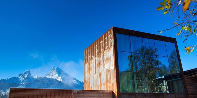 """""""Haus der Berge"""" - Informationszentrum des Nationalparks Berchtesgaden. Foto: Nationalpark Berchtesgaden"""