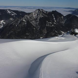 Gipfelkamm der Notkarspitze am 15.11. ,Foto: Pröttel