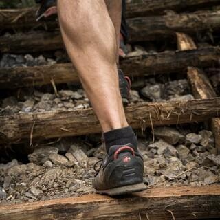 Mit einer gut aufgebauten Muskulatur geht's leichter hinauf. Foto: DAV/Klaus Listl