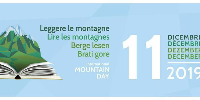 5. Berge Lesen Festival 2019 der Alpenkonvention zum Internationalen Tag der Berge, 11. Dezember 2019