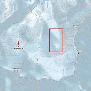 Das vom Felssturz betroffene Gebiet, Quelle: alpenvereinaktiv.com