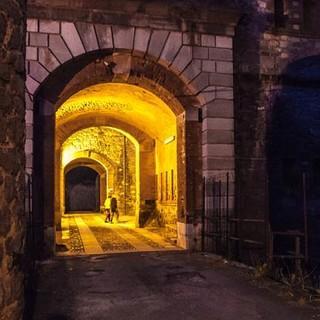 Die Festungen am Colle di Nava rufen Zeiten vor Gründung der EU in Erinnerung. Foto: Ingo Röger