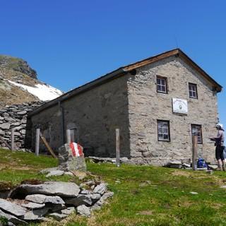 Alte Prager Hütte - eine traditionelle Schutzhütte aus der Gründerzeit des Hüttenwesens, Foto: DAV/ Robert Kolbitsch