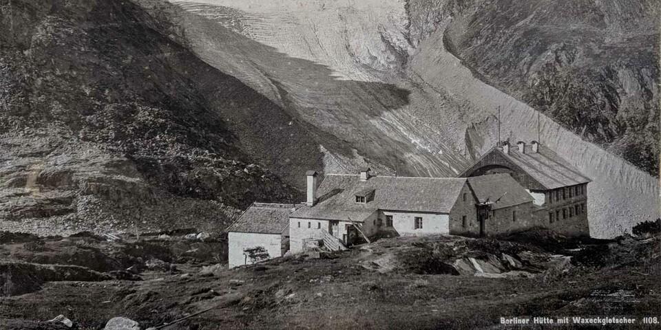 Der Waxegg Kees wie er noch zu Beginn des 20. Jahrhunderts aussah. Foto: Friedrich