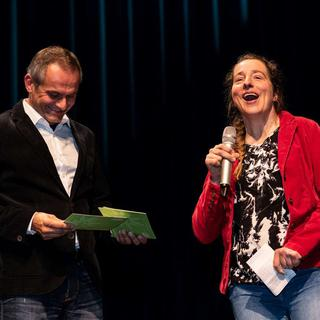 Anke Hinrichs bei der Verleihung des DAV-Sportpreises. Foto: Nils Nöll