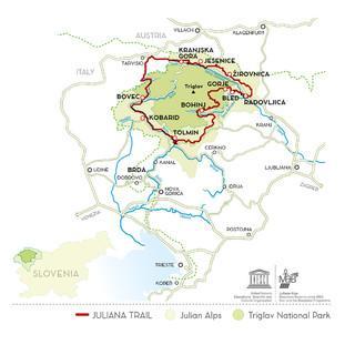 Karte: Tourism Bohinj