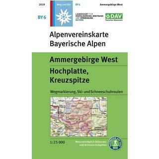 Alpenvereinskarte BY 6 Neuauflage 2019