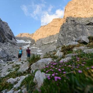 Bezogen auf die Mitgliederanzahl sind die Bergunfälle zurückgegangen. Foto: DAV/Wolfgang Ehn