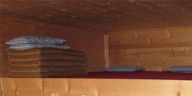 Winterraum - Winterraum Schlafplätze&#x3B; Photo: Claudia Studer