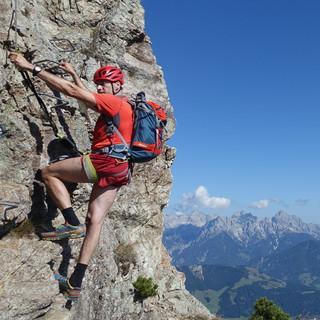 """""""Da Luftig"""" an der Henne bietet schöne Aussicht auf den Loferer Steinberg. Foto: Andi Dick"""