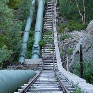 In den steilsten Passagen wird die Treppe zur Leiter. Foto: Antes & Antes