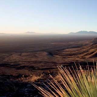 Kartchner Range (Arizona) - Morgenstimmung in der Kartchner Range, Arizona, USA | Foto: Bernd Ritschel