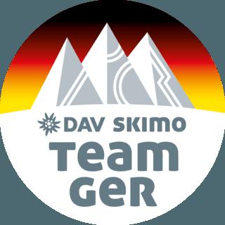 Alle Mannschaften starten unter dem DAV Logo SkimoTeamGermany