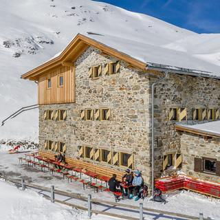 Amberger Hütte, Foto: Stephanie Maria