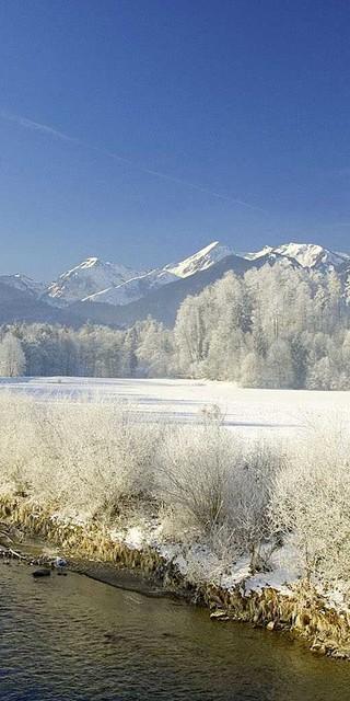 Nach einem Winterspaziergang (wie hier im Achental) soll es zu Hause gemütlich warm sein. Foto: Fotografie-Vodermeier.de