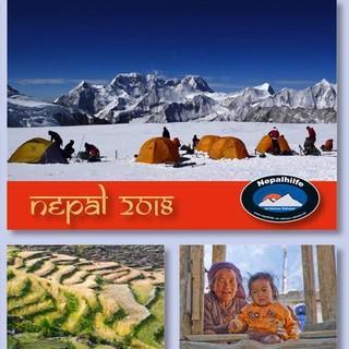 "Titel des Kalenders ""Nepal 2018"""