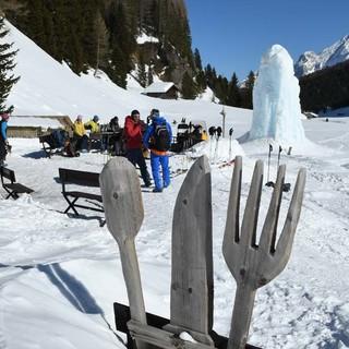Baita Lino Brach: Willkommene Einkehr im Val Duron. Foto: Stefan Herbke