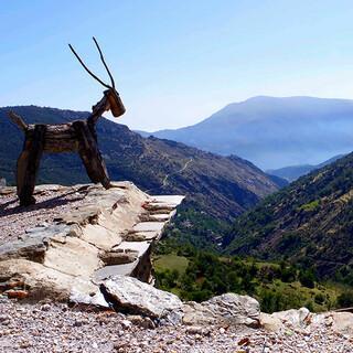 Ausguck: Im Hinterland von Capileira gäbe es sicher noch viele Wandermöglichkeiten. Foto: Josef Schlegel