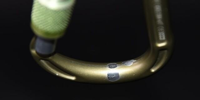Abgeplatzte Beschichtung des Concept SGL HC - feine Kanten an den Beschichtungsrändern sind sichtbar