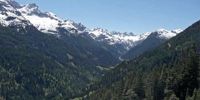 Blick ins Hornbachtal