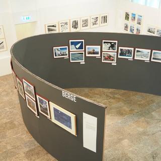 Blick in die Ausstellung Standpunkt 1