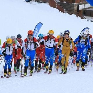 Hochkonzentriert - Toni Palzer beim Start des Individuals in Andorra. Foto: DAV/Seebacher