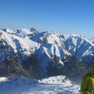 Cima delle Lose da Argentera - Nix für Warmduscher: Schneetreiben an der Cima delle Lose da Argentera